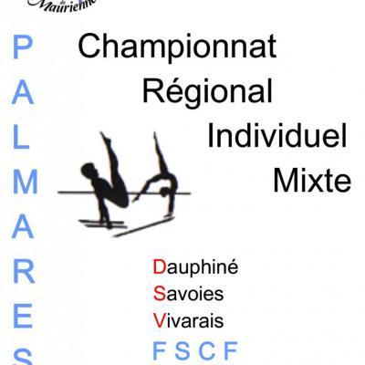 Palmarès Régional Individuel Mixte-2017