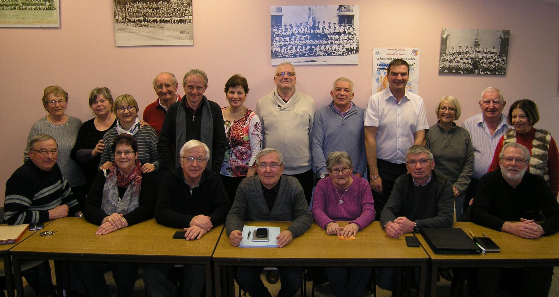 1ere reunion de l annee pour le comite directeur