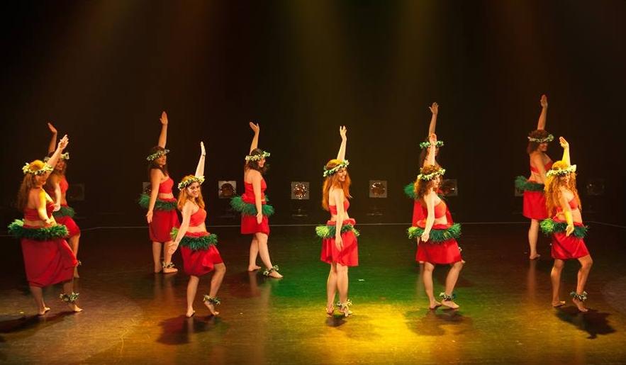 La danse tahitienne