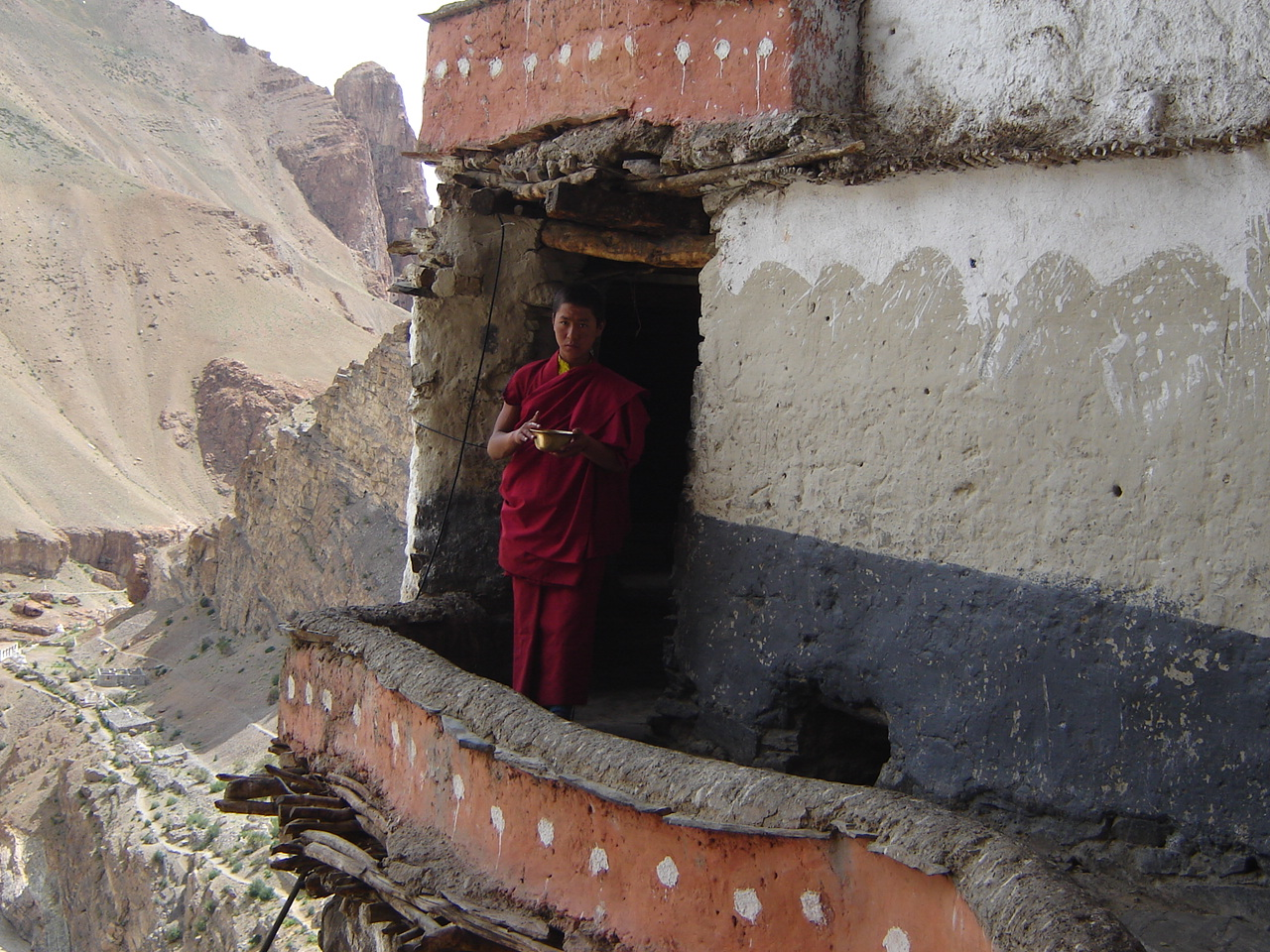 Lama dorjay du monastere de muney
