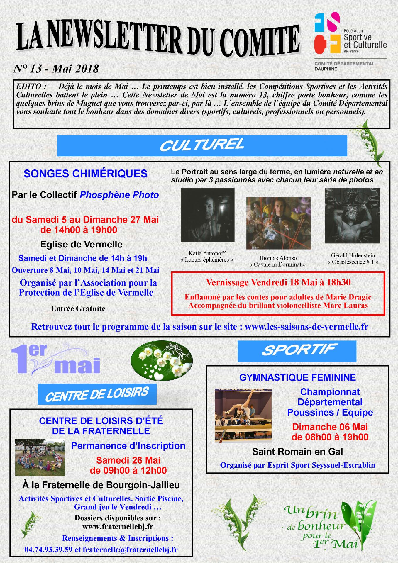 Newsletter n13 page 1