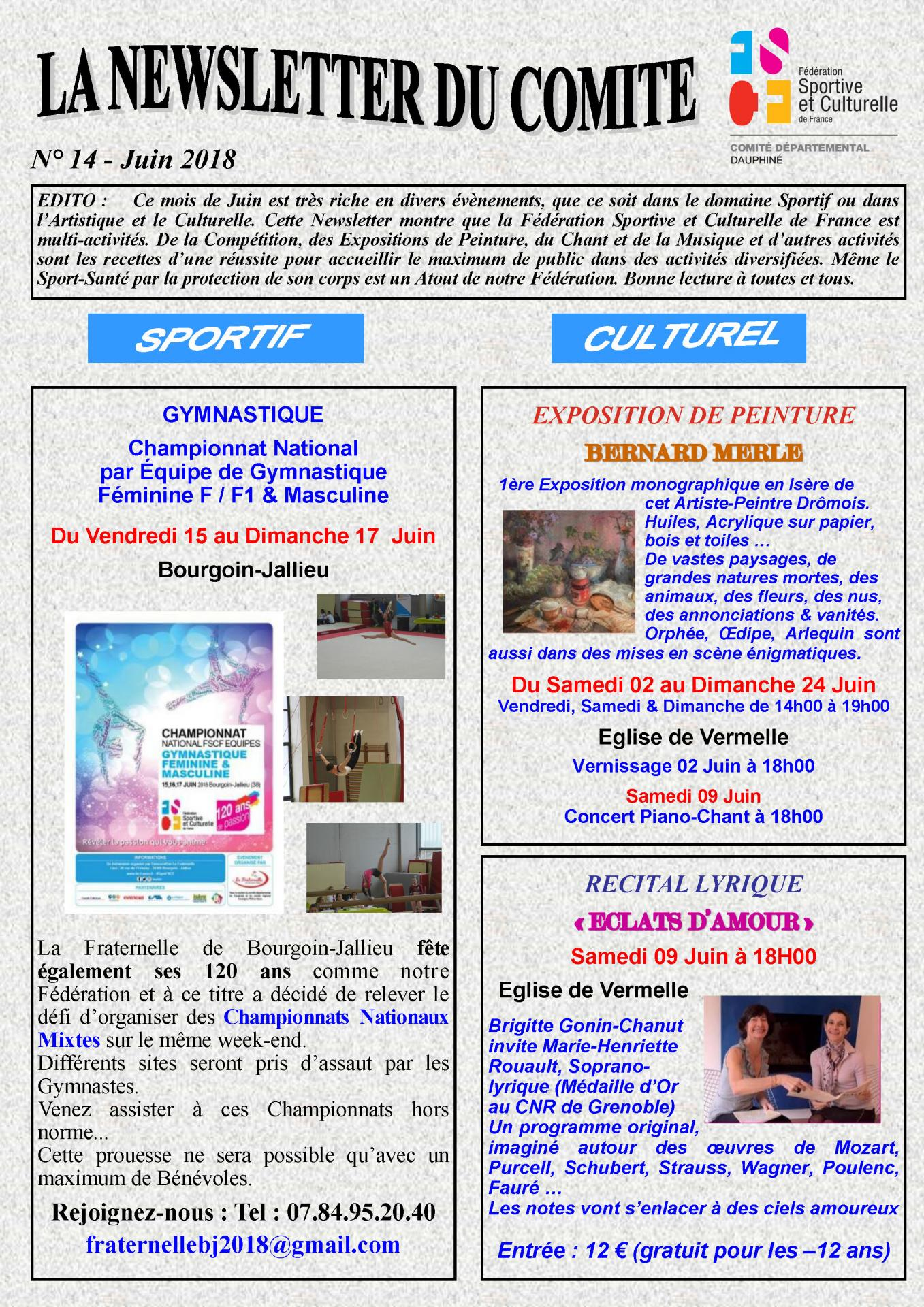 Newsletter n14 page 1