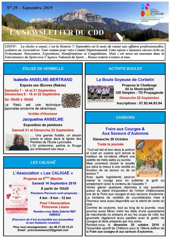 Newsletter n29 page 1