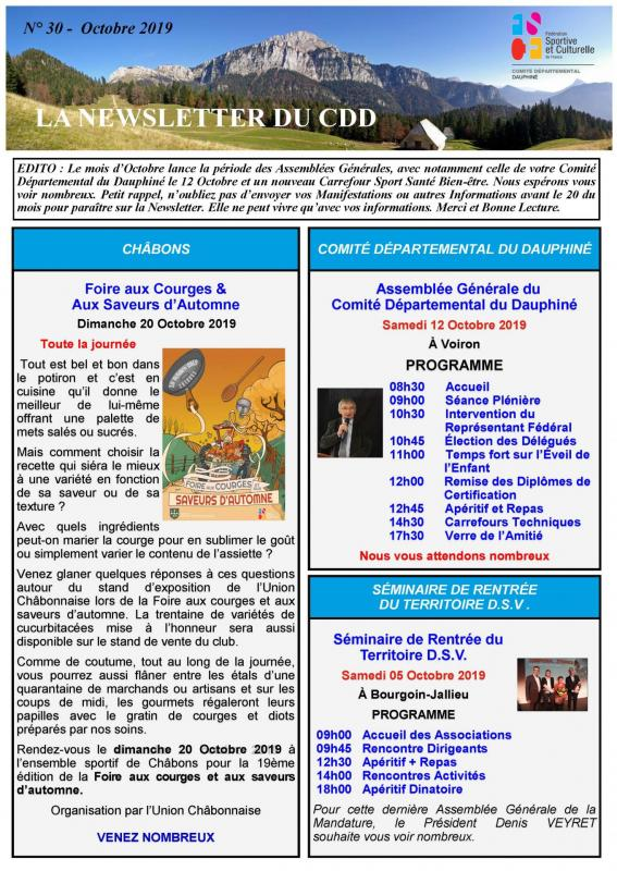 Newsletter n30 page 1