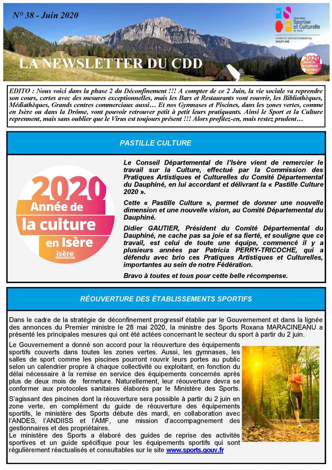 Newsletter n38 page 1