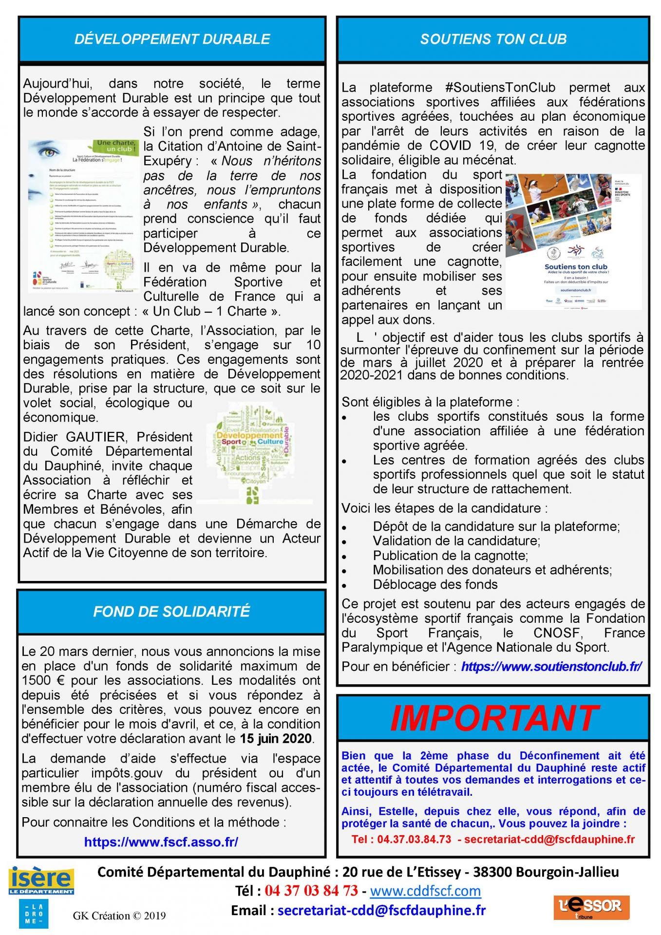 Newsletter n38 page 2