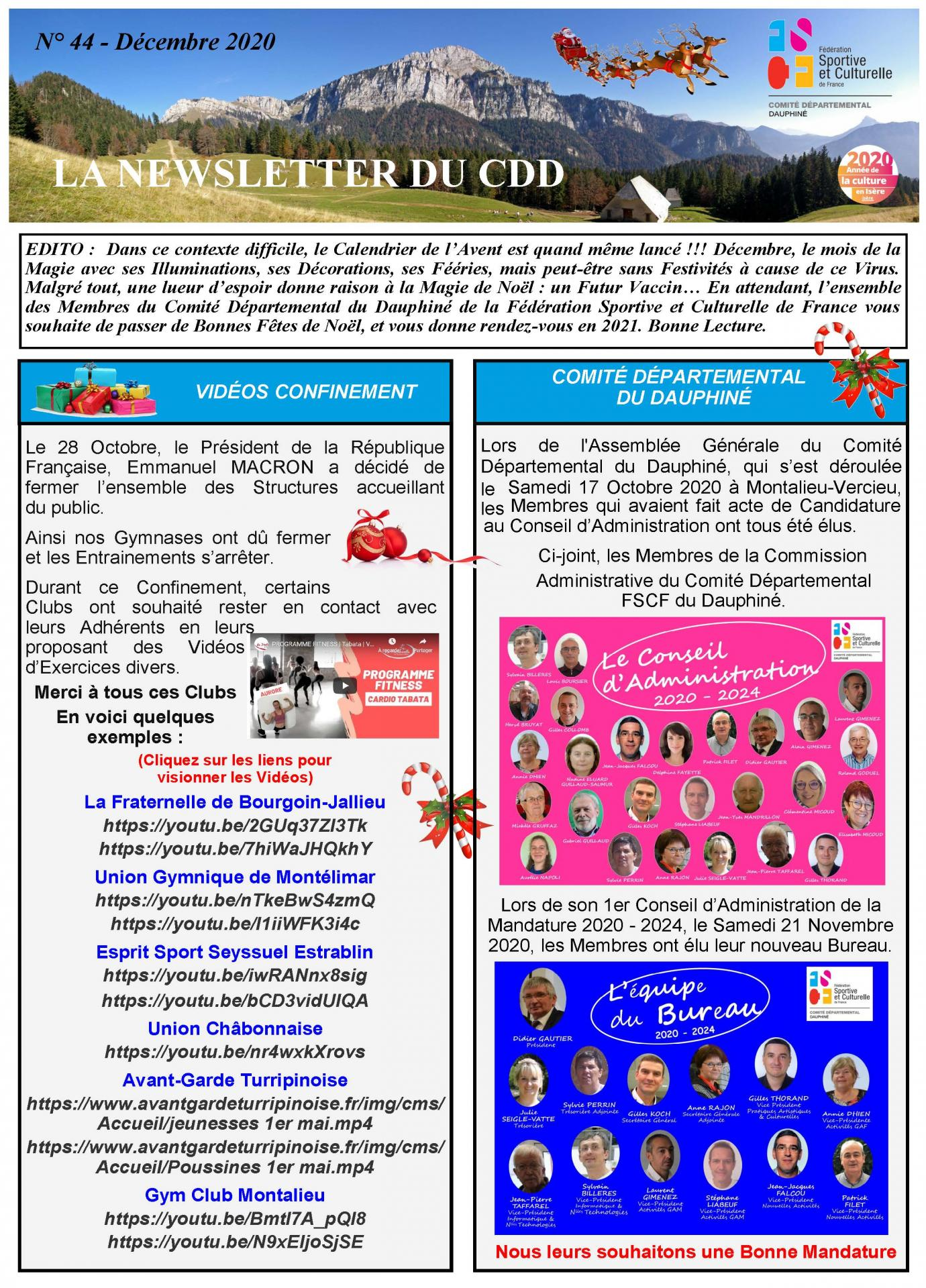Newsletter n44 page 1