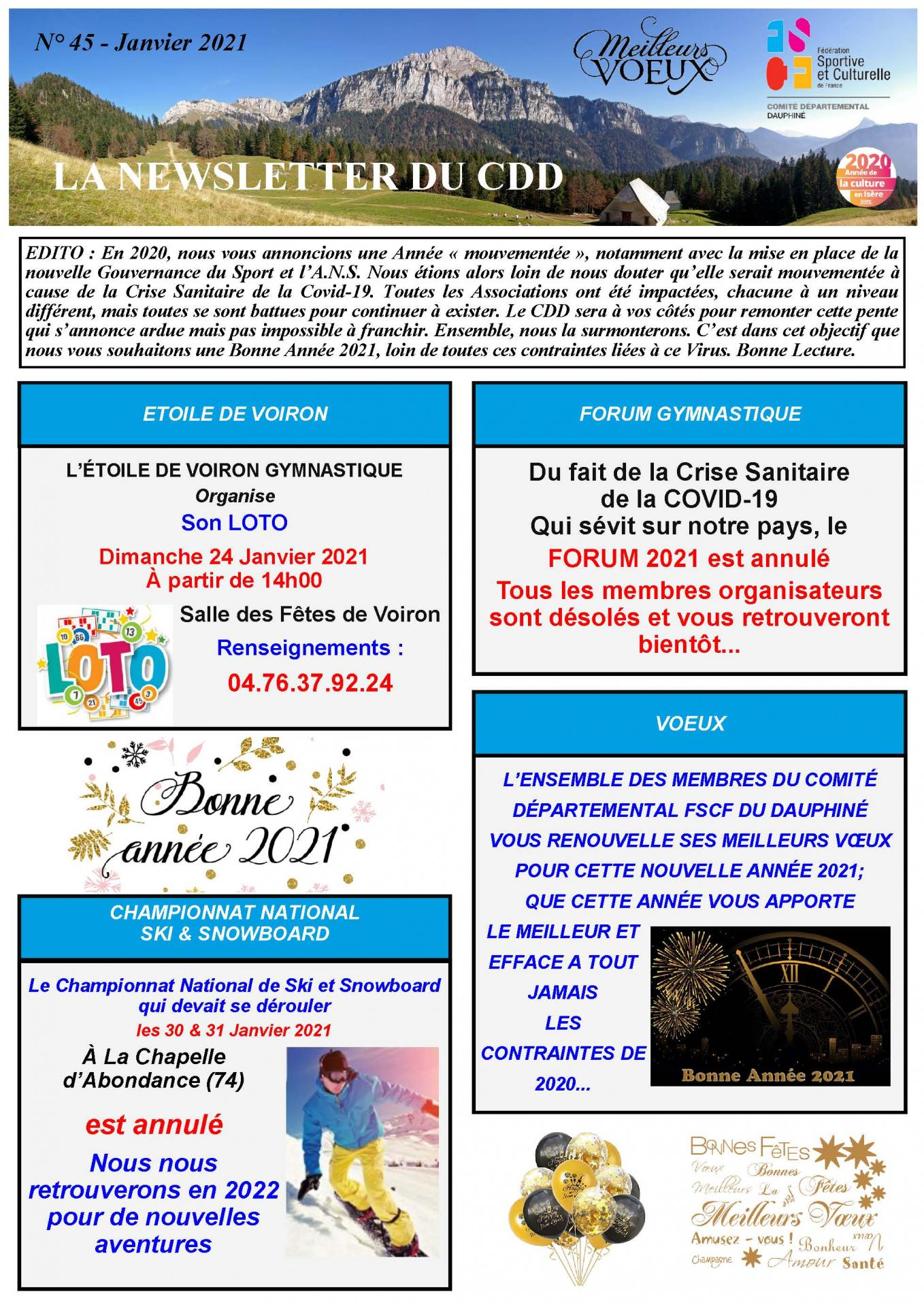 Newsletter n45 page 1