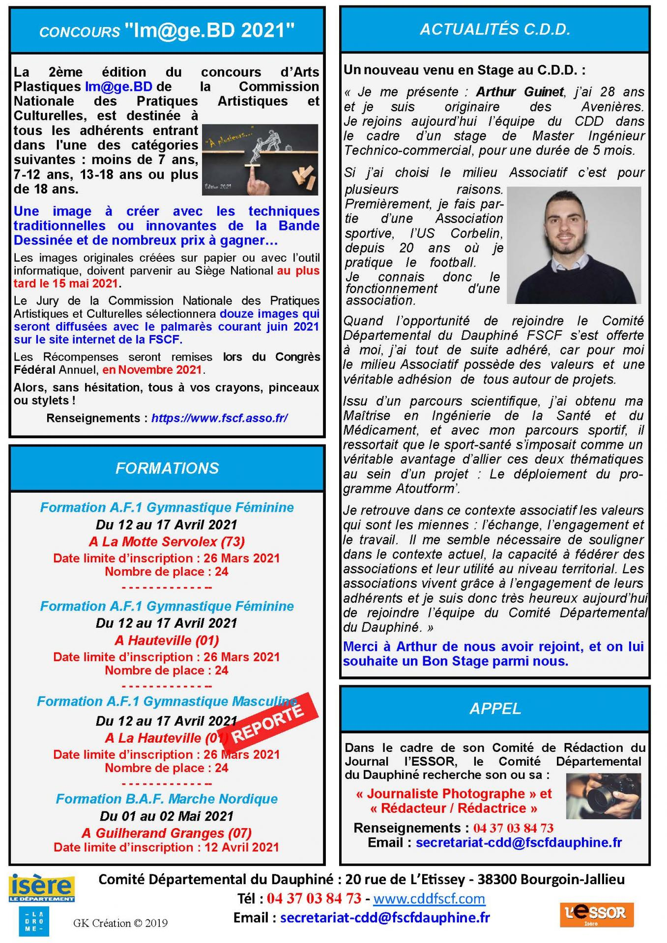 Newsletter n47 page 2