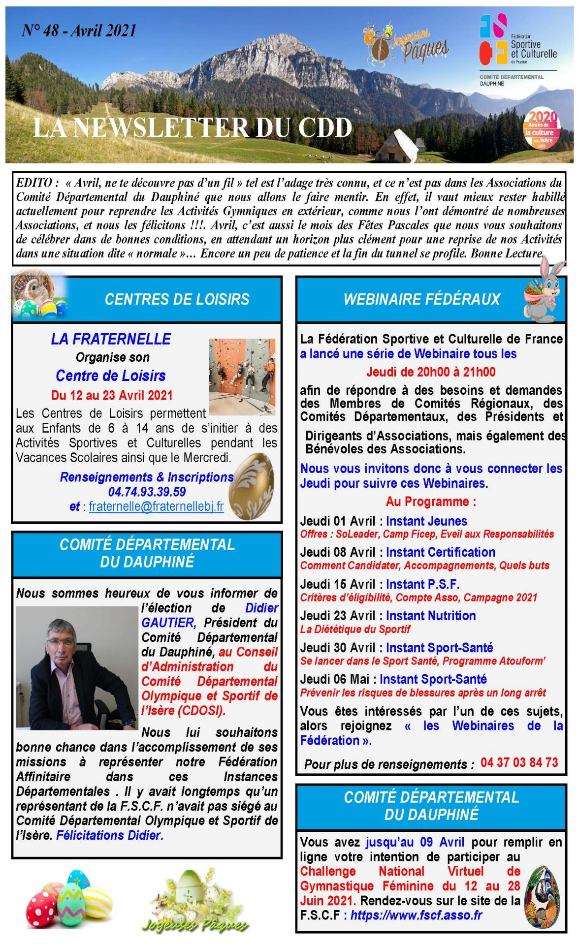 Newsletter n48 page 1