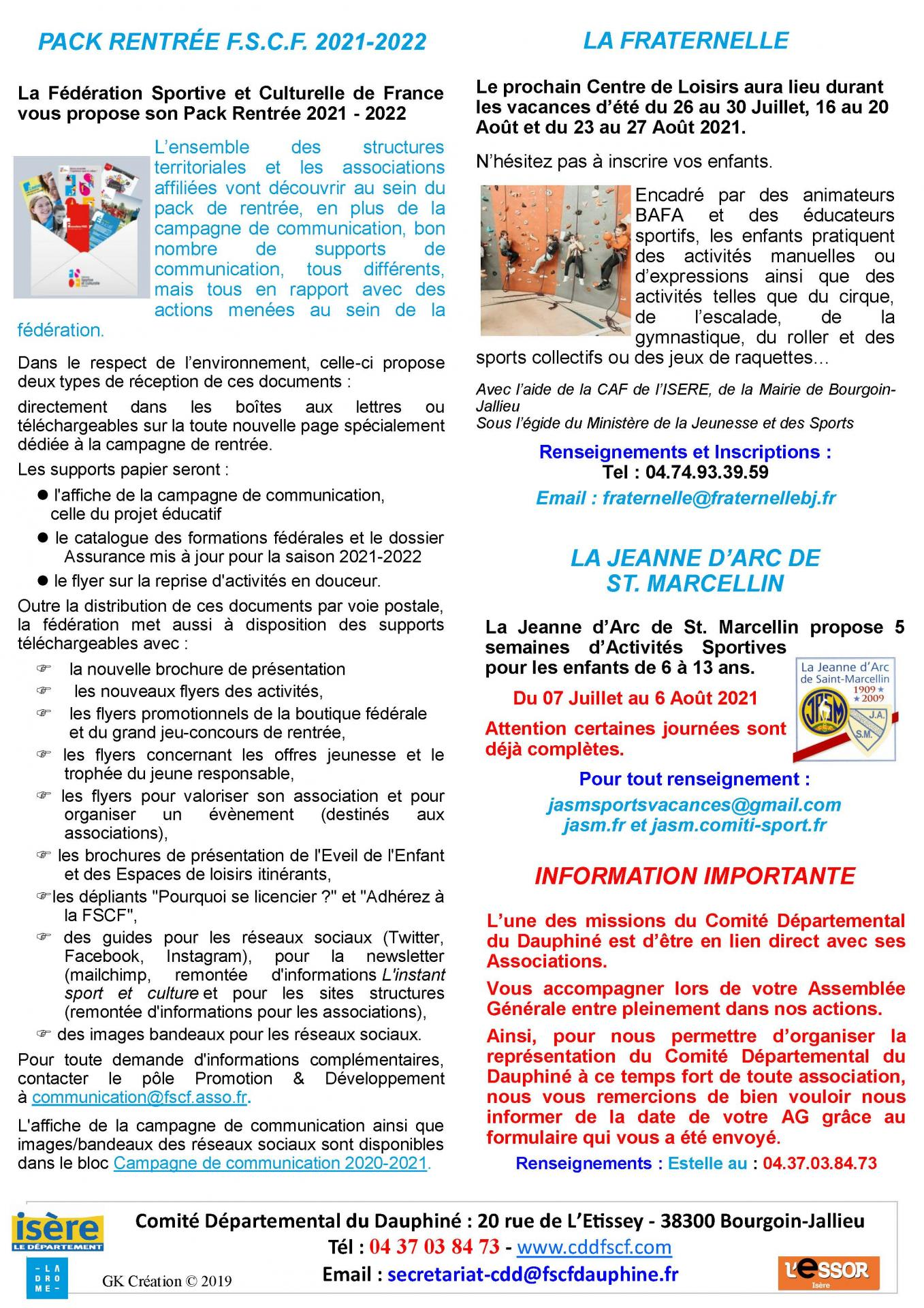 Newsletter n51 page 2