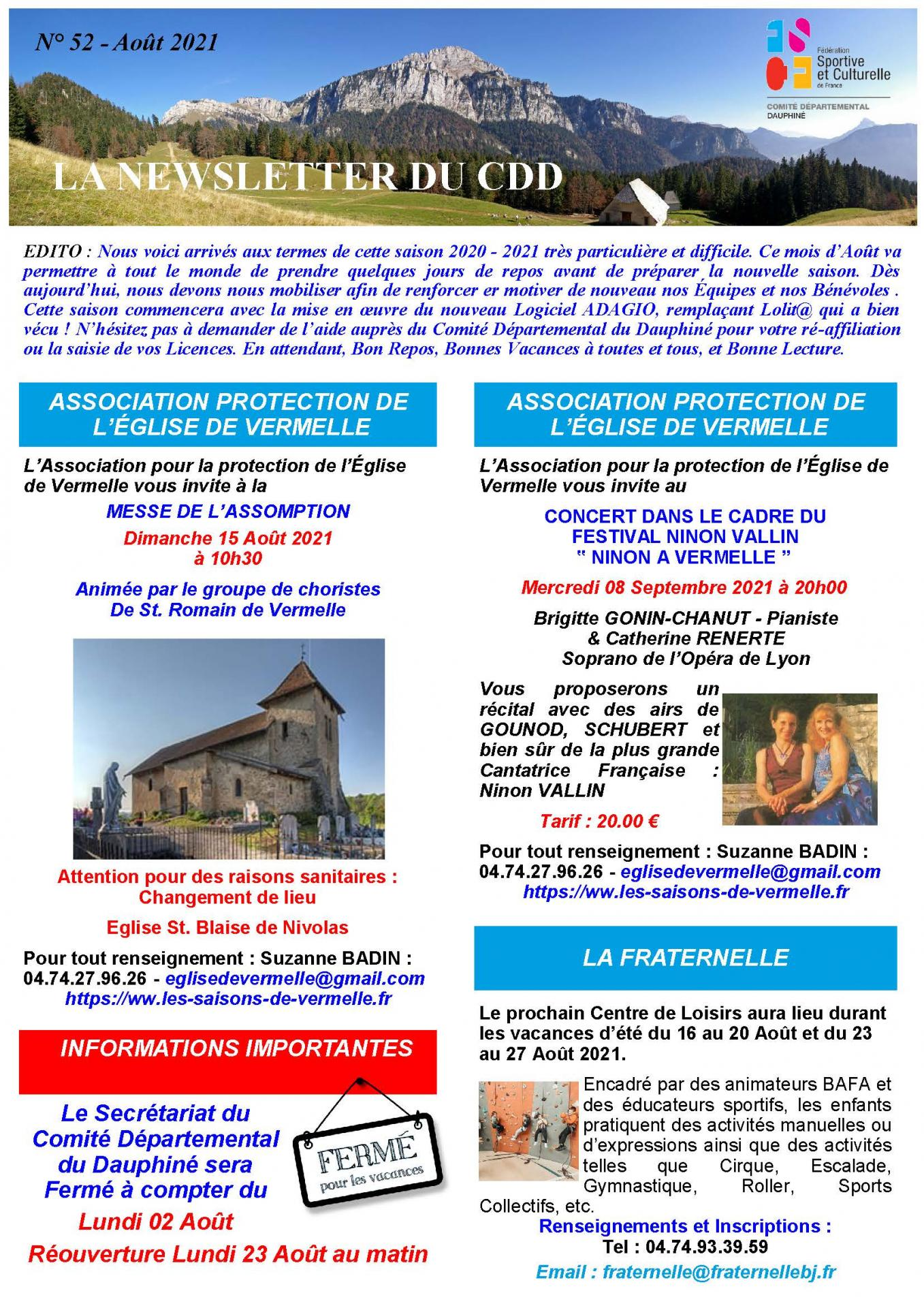 Newsletter n52 page 1