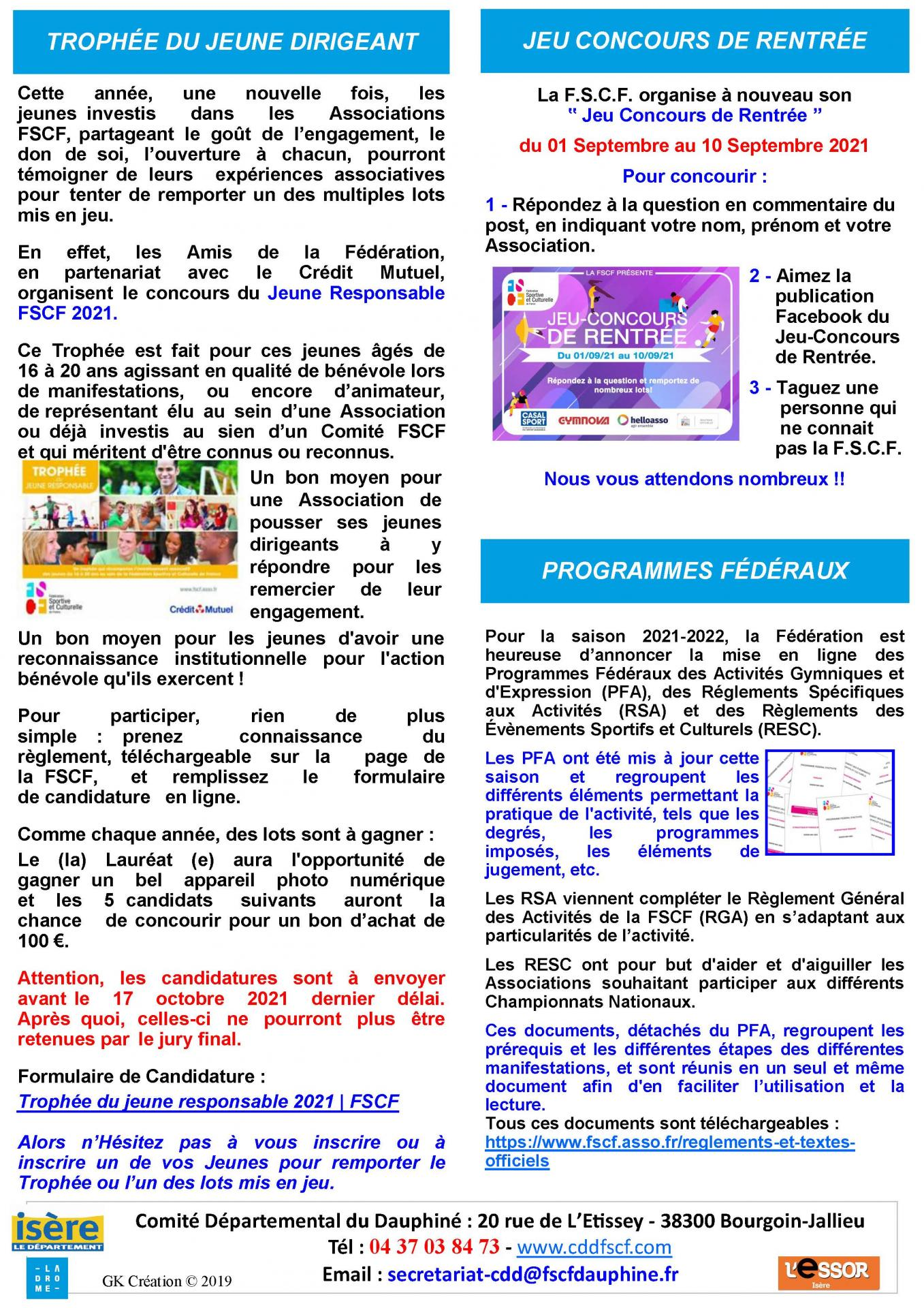 Newsletter n52 page 2