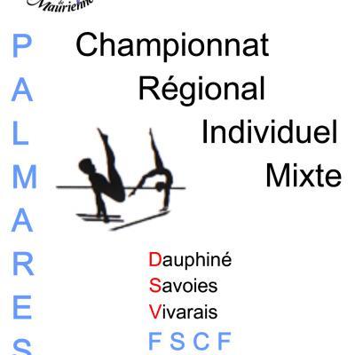 Palmarès Régional Individuel GF-2018